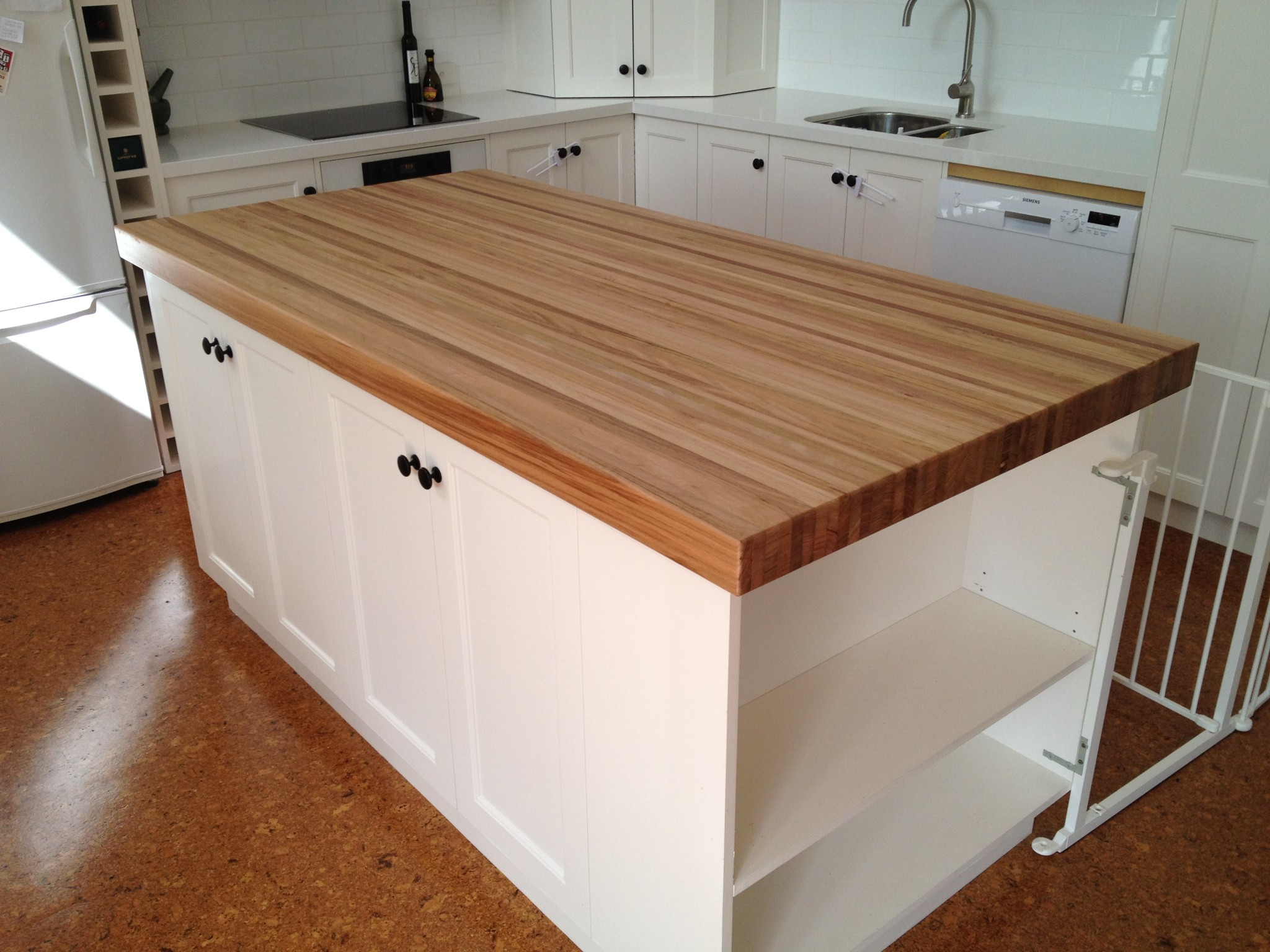 Wooden Kitchen Table With Bench