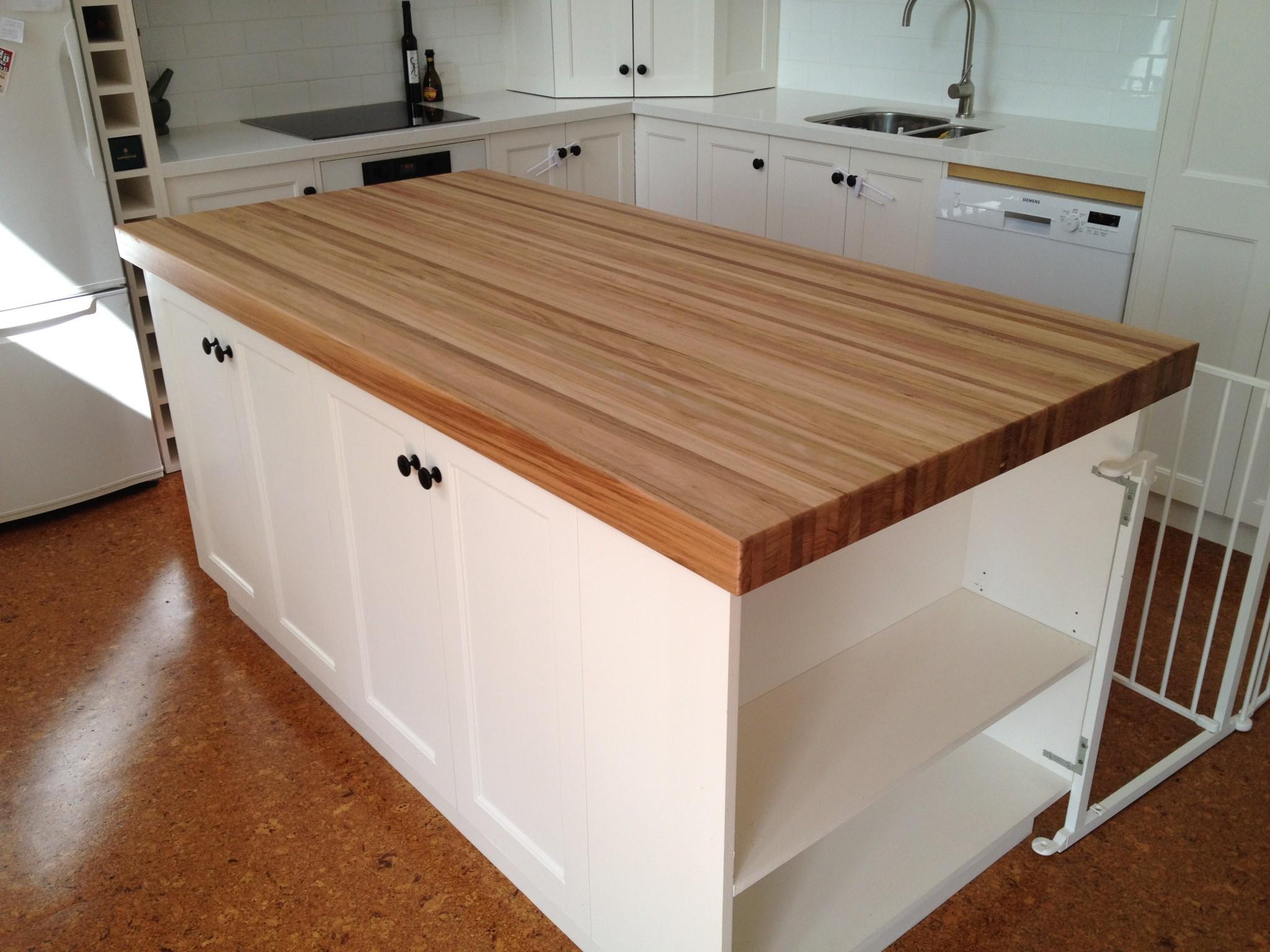 butchers block table tops islands trolleys benchtop