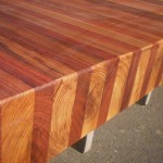 Wooden kitchen benchtops