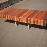 Wooden kitchen benchtops