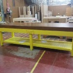 Long custom made prep table POA